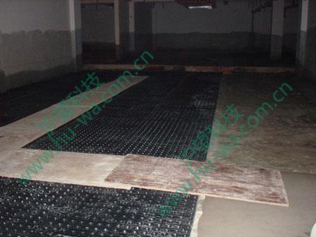 排水板铺设施工流程图