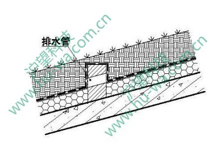 排水板坡屋面防滑做法