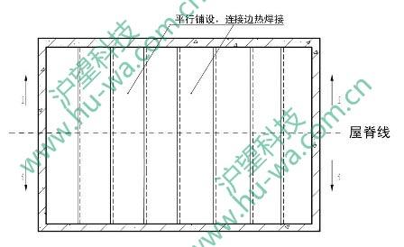 ④排水板铺设(一)