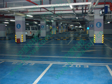 上海万达商业广场地下车库排水板项目